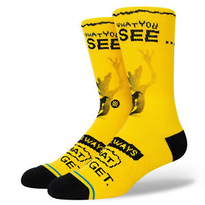 Stance Socks x Gremlins What You See Isn't Always What You Get Large Men's 9-13