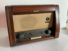 Ancien Poste RADIO TSF Caisson Bois Bel état  NECKERMANN Made in Germany 1954