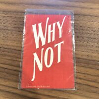 WHY NOT - VINTAGE ANTIQUE POSTCARD 1907 - RED -  D Millson risque