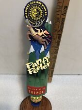 Midnight Sun Brewing Panty Peeler beer tap handle. Alaska