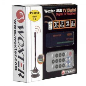 SINTONIZADOR TV PARA PC USB WOXTER  TOTAL (SOLO TDT DIGITAL)- NUEVO !!!