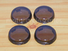 4x Turn Signal Light Smoke Lens Cover F Harley Sportster Touring Electra Glide