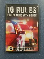10 Rules for Dealing with Police (DVD) William Murphy Jr NEW