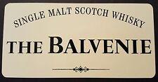 The Balvenie scotch whisky sticker / decal
