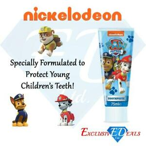 Paw Patrol 75ml Toothpaste - Nickelodeon - Strawberry Flavour 3 Years +