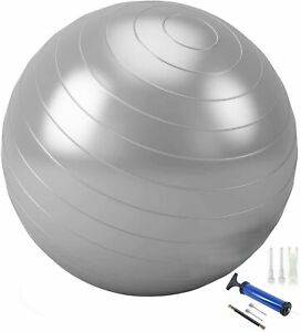 Fitness Yoga Pregnancy Anti Burst 75cm Exercise Gym Ball Thick Swiss Ball Pump