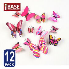 3d Butterfly DIY Wall Decals Removable Sticker Wedding Nursery Self-adhesive DP