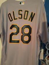 Authentic Matt Olson Jersey Size 50 Oakland A's Athletics 50 Anniversary Patch