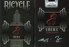 CARTE DA GIOCO BICYCLE EMPIRE limited edition,poker