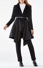 BCBGMaxazria Mandi Coat, Black/Grey, Medium, MSRP: $428.00