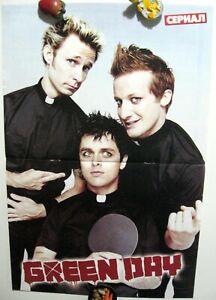 Green Day Billie Joe Armstrong magazine poster A3 16x11