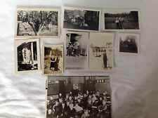 Group of 9 Photographs - Children, Hunting, Animals etc..