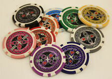 POKER CHIPS SAMPLE SET 10PCS ULTIMATE CASINO CHIPS
