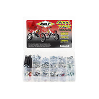 BOLT HARDWARE HONDA CR125 250 500 1985 ONWARDS STEEL FRAME BOLT FASTENER KIT