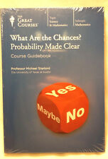 What Are the Chances? Probability Made Clear Great Courses with Guidebook NEW