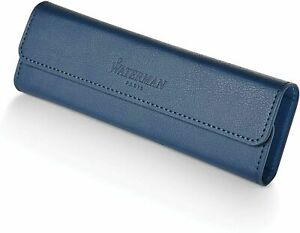 Waterman  Obsession   Pen Pouch Blue  Pen Case   New