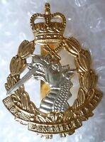 Badge- Royal Army Dental Corps Cap Badge, QC Ex Dentibus Ensis Badge