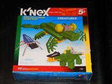 Knex Creatures Multi Model Building Set Build 10 Creatures 112 Pcs 5+years New