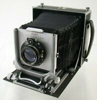 LINHOF Technika 13x18 folding 5x7 Tessar Zeiss 4,5/210 rangefinder Set LOOK /20