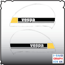 X2 VESPA PX / T5 SIDE PANEL STICKERS DECALS various colours mod ska retro s19