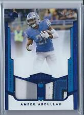 45a5795f Ameer Abdullah 2017 Plates & Patches Dual Patch Detroit Lions 25/25 ...