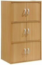 6 Door Storage Cabinet Office Organizer Kitchen Pantry Cupboard Shelves COLORS