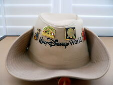 Disney Hat with Vintage Disney Pins
