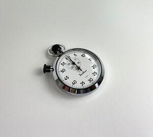 Cronometro da gara Hanhart Pinlever 7 Jewels 1/5 sec Stopwatch stoppuhren