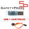 CONVERSOR USB A SERIE RS232 UART TTL 5V CABLES DUPONT PL2303