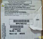 Brand New Wp67002767 Whirlpool Freezer Drawer Slide Rail Wp67002767 photo