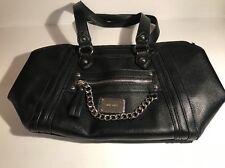 Nine West Black Leather Purse/ Hand Bag