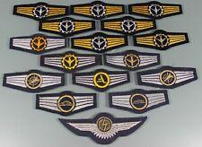 Post WW2 West German Bundeswehr Luftwaffe Air Force Wings Lot of 16 Various F269