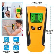 LCD Electric Wall Stud Center Finder Metal Wood AC Live Wire Detector Scanner