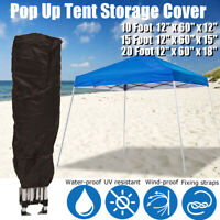 Canopy Tent Storage Carry Bag Dust Cover for 10x10-10x15-10x20 Frames Camping
