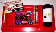 Juicy Jays / Cookies Rolling Papers Tray/ Juicy Jay Cones / Padded Pipe Case