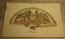 Cartolina Ventagli Serie I Francia Altara 1953 PA14