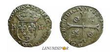 HENRI IV Douzain aux deux H 1591 H La Rochelle