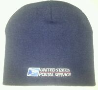 USPS POSTAL BEANIE/NAVY SKULL BEANIE CAP WITH USPS LOGO EMBROIDERY/FREE SHIPPING
