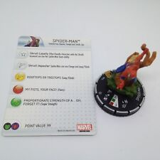 Heroclix Marvel 10th Anniversary set Spider-Man (Skrull) #024 Chase fig. w/card!