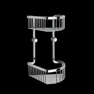 Smedbo Loft Doppelduschkorb Chrom LK377 Retourenware
