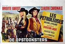 LEGEND OF FRENCHIE KING Les PETROLEUSES Belgian movie poster BARDOT CARDINALE NM