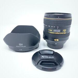 Nikon AF-S 16-80mm f 2.8-4E Nikkor DX ED VR Wide Zoom Digital Camera Lens - 4429
