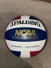 SPALDING NCAA SPECIFICATION VOLLEYBALL RED, WHITE AND  BLUE