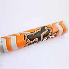 "9.44"" Orange FOX DIRT BIKE Motorcyle Motorcross Handlebar Cross Bar Pad OB"