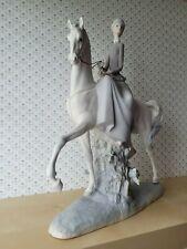 "Lladro ""Female Equestrian"" + 4516 + Retired + Matte + Great Condition"