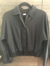 Rene Lezard black zip up jacket size 38 made in Germany