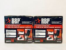 2 Each RBP Universal Truck Bed Side Step For Ford, Chevrolet And Dodge Trucks.
