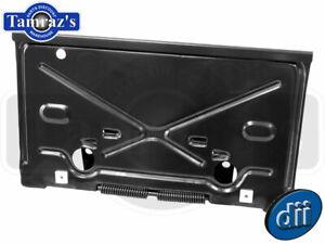 68-79 Chevy (see list) BOP Rear License Plate Bracket Holder Fuel Gas Door (Dii)
