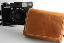 Plaubel Makina 67 Leather Case Borsa Pelle soft +  Leather Strap Tracolla