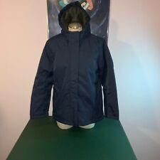 NEW LL Bean 1X Winter Warmer Hooded Jacket Women's Regular Nautical Navy